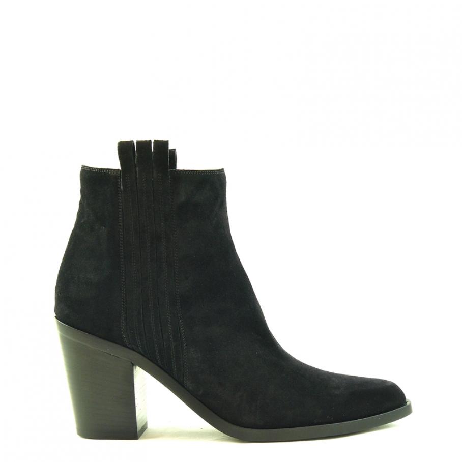 Sartore western boot black