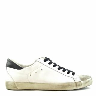 4Barra12 - 4Barra12 super star sneaker black/white
