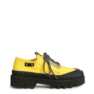 Proenza Schouler - Proenza Schouler City lace-up lugsole yellow