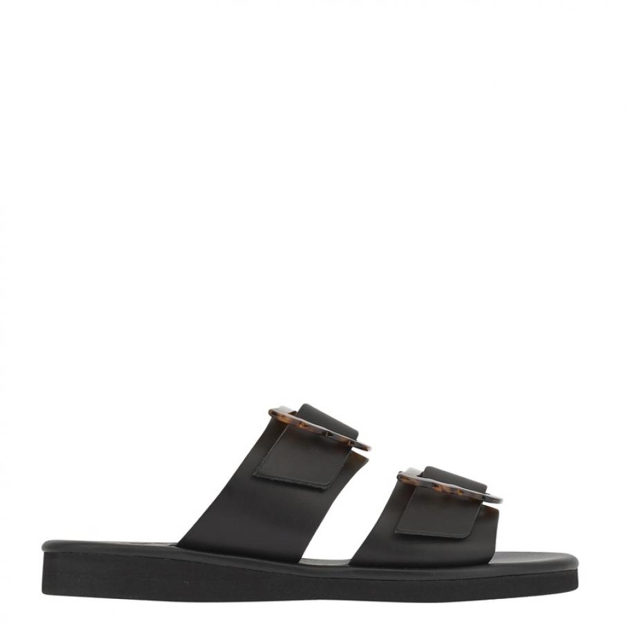 Ancient Greek Sandals - Ancient Greek sandals Iaso black
