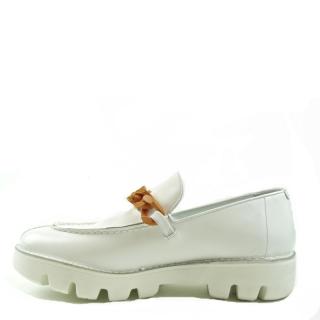 Rocco P. - Rocco P. white loafer 2944PP/03