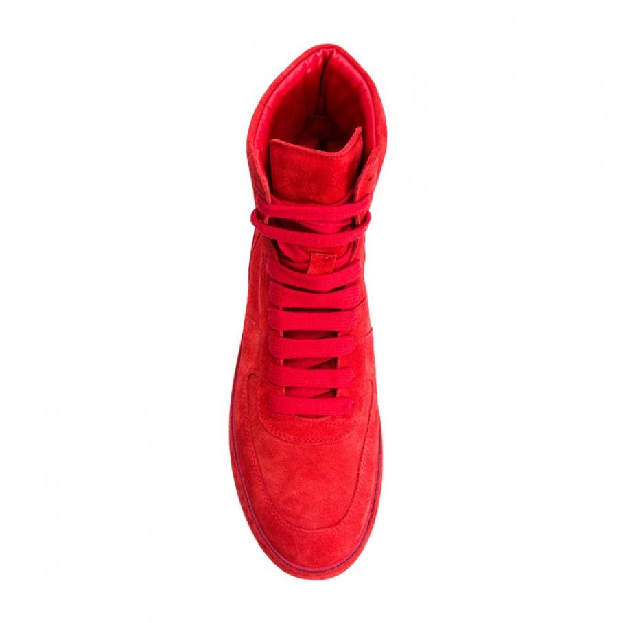 Ann Demeulemeester - Ann Demeulemeester 2836 sneaker scarlett