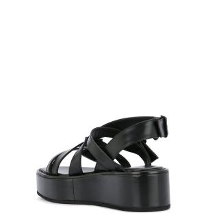 Ann Demeulemeester - Ann Demeulemeester black sandal