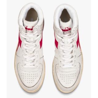Diadora Heritage - Diadora Mi basket used white red