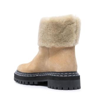 Proenza Schouler - Proenza Schouler shearling ankle boots